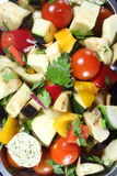 Assorted Chopped Vegetables Royalty Free Stock Photo