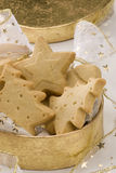 Assorted Christmas biscuits. Royalty Free Stock Photography
