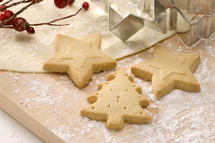 Assorted Christmas cookies. Stock Photo