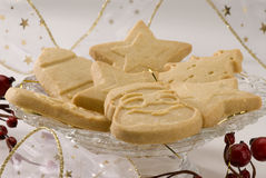 Assorted Christmas cookies. Royalty Free Stock Photography