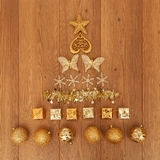 Assorted Christmas decorations Royalty Free Stock Photo