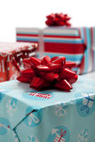 Assorted Christmas presents Stock Photography