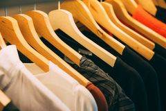 Assorted Clothes Stock Images