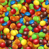 Assorted Coated Candy Royalty Free Stock Image