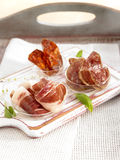 Assorted cold cuts Royalty Free Stock Image
