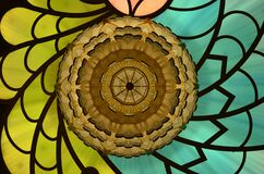 Assorted Color Stained Glass Window Royalty Free Stock Image