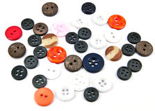 Assorted Colorful Buttons Stock Photo