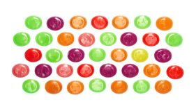 Assorted colorful candies Royalty Free Stock Photography
