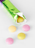 Assorted colorful candies Stock Photo