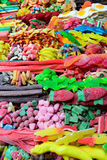 Assorted Colorful Candies in a Market Royalty Free Stock Images