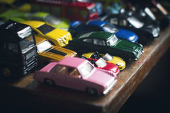 Assorted colorful car collection Stock Images