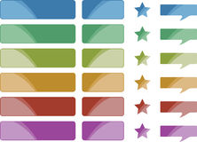 Assorted Colorful Icons and Symbols Royalty Free Stock Image