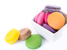 Assorted colorful macaroon Stock Photography