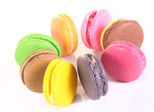 Assorted colorful macaroon Stock Image