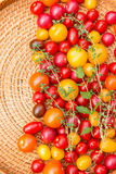 Assorted colorful tomatoes Stock Photography