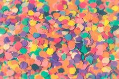 Assorted Colors Paper Cutouts Closeup Photo stock photography
