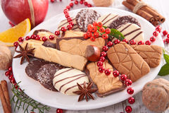 Assorted cookie and biscuit Stock Photo