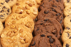 Assorted cookies Royalty Free Stock Photography