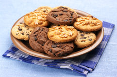 Assorted cookies Stock Photos