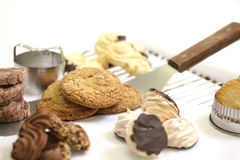 Assorted cookies Stock Photos