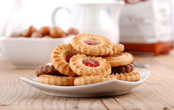 Assorted cookies Stock Images