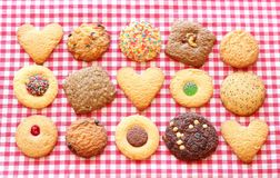 Assorted cookies Stock Photo