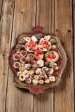 Assorted Cookies And Desserts Stock Images