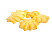 Assorted cookies isolated on white background. Assorted cookies isolated on white Royalty Free Stock Photos