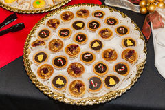 Assorted cookies Royalty Free Stock Image
