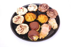 Assorted cupcakes Stock Photo