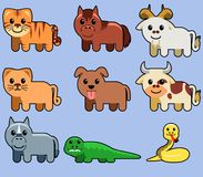 Assorted Cute Animal Stock Images