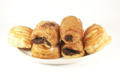 Assorted Danish Pastries royalty free stock photography