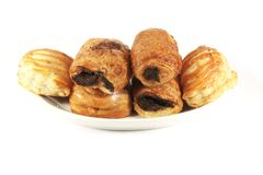 Assorted Danish Pastries Stock Photos