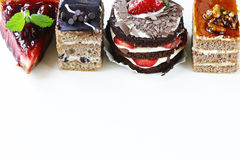 Assorted desserts, cakes and pastries Royalty Free Stock Photography