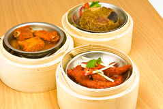 Assorted Dim Sum Stock Image