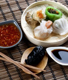 Assorted Dim Sum Stock Photography