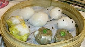 Assorted dim sum Stock Photo