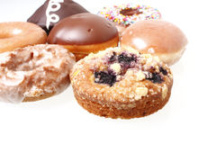 Assorted donuts Stock Photography