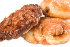 Assorted Donuts. Isolated on white Stock Images