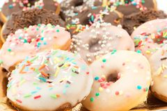 Assorted donuts Royalty Free Stock Photography