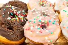 Assorted donuts Stock Photo