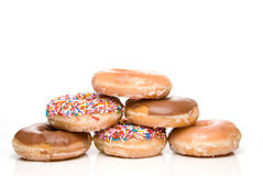 Assorted Doughnuts Stock Photos