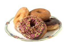 Assorted Doughnuts Stock Photo