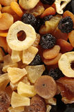 Assorted dried fruits. Background made of assorted dried fruits Stock Image