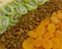Assorted dried fruits Royalty Free Stock Photography