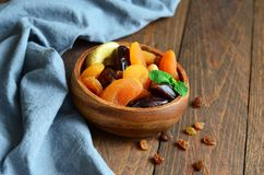Assorted Dried Fruits Royalty Free Stock Image