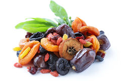 Assorted dried fruits Stock Image