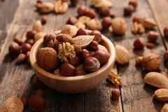 Assorted dry fruit royalty free stock photography