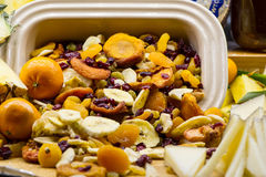 Assorted Dry Fruits stock photo