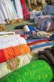 Assorted fabrics Royalty Free Stock Image